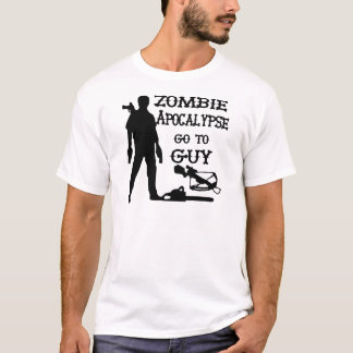 Zombie Apocalypse Go To Guy (Weapons) T-Shirt