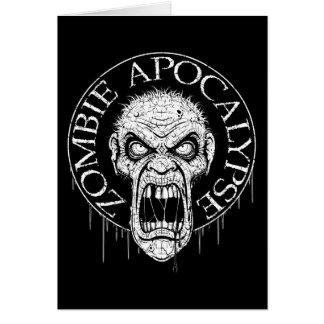 Zombie Apocalypse Greeting Cards