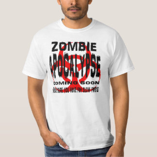 Zombie Apocalypse have fat slow friends Tee Shirt