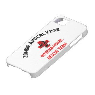 Zombie Apocalypse International Rescue iPhone Case iPhone 5 Case