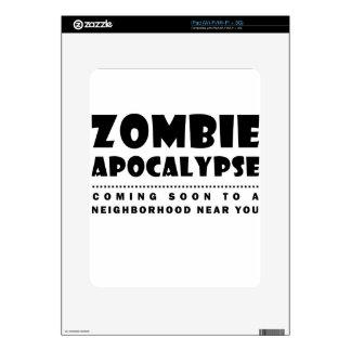 Zombie apocalypse iPad decals