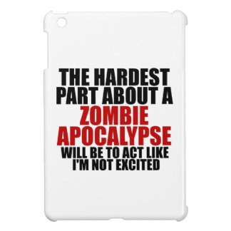 Zombie Apocalypse iPad Mini Cover