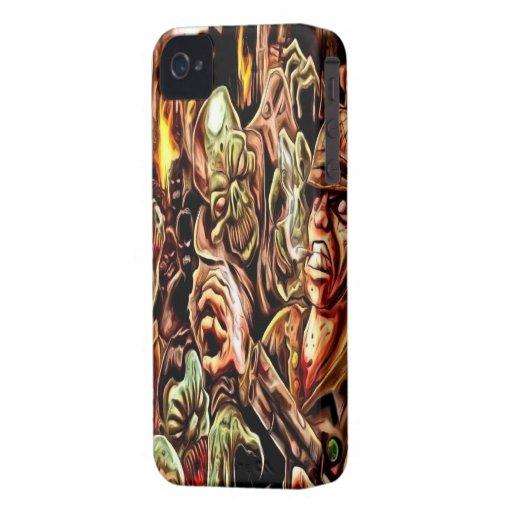 Zombie Apocalypse iPhone 4/4s Mate ID Case iPhone 4 Case-Mate Cases