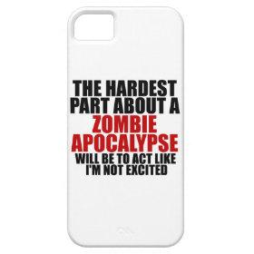 Zombie Apocalypse iPhone 5 Cover
