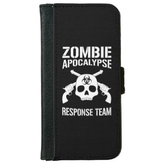 Zombie Apocalypse iPhone 6/6s Wallet Case