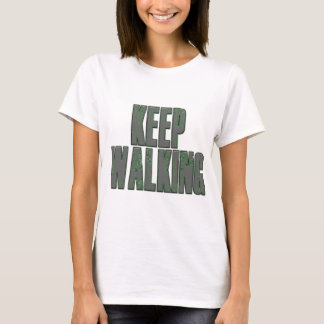 Zombie Apocalypse Keep Walking.png T-Shirt