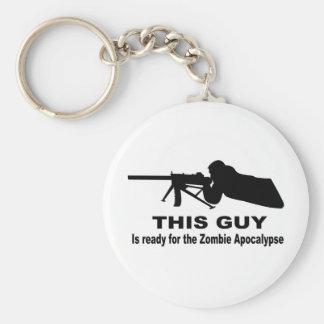 Zombie Apocalypse Keychains