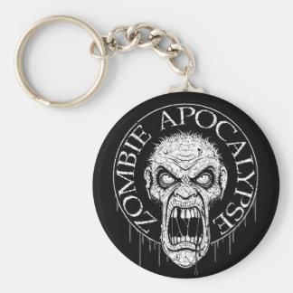 Zombie Apocalypse Keychain