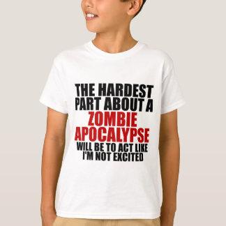 Zombie apocalypse Kids t-shirt