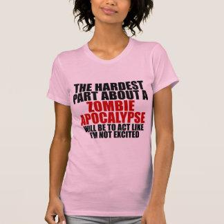 Zombie apocalypse Ladies Dark T-Shirt
