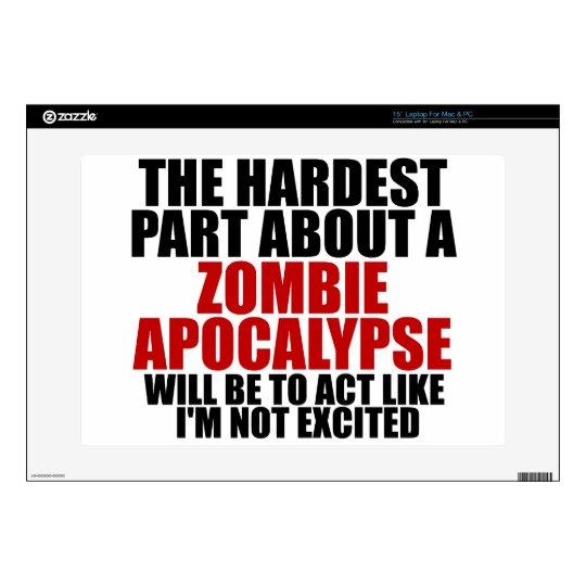 Zombie Apocalypse Laptop Skin