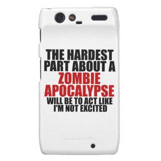 Zombie Apocalypse Motorola Droid RAZR Case