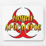 Zombie Apocalypse Mouse Pads