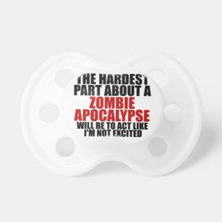 Zombie Apocalypse Pacifier