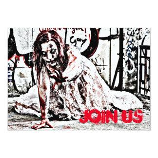 Zombie Apocalypse Party Invitation
