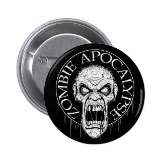 Zombie Apocalypse Pin Buttons