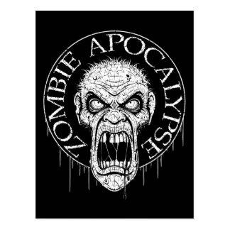 Zombie Apocalypse Postcards