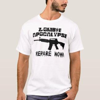 Zombie Apocalypse Prepare Now T-Shirt