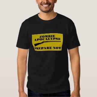 Zombie Apocalypse Prepare Now T Shirt