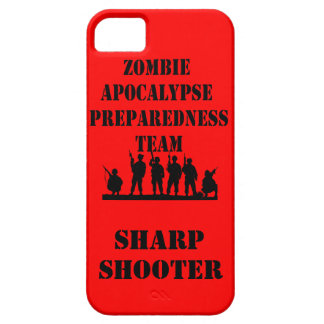 Zombie Apocalypse Preparedness Team iPhone Case
