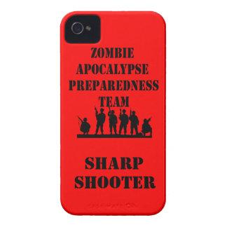 Zombie Apocalypse Preparedness Team iPhone Case
