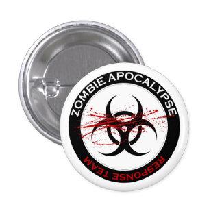 Zombie Apocalypse Response Team Button