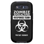 Zombie Apocalypse Response Team Galaxy S3 Case