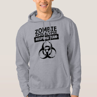 Zombie Apocalypse Response Team Hooded Sweatshirt