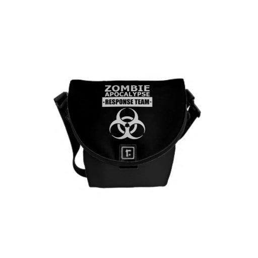 Zombie Apocalypse Response Team Mini Messenger Bag