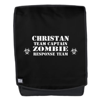Zombie Apocalypse Response Team Personalized Backpack