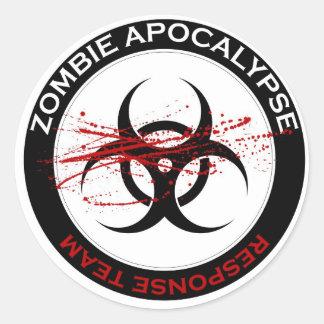 Zombie Apocalypse Response Team Stickers