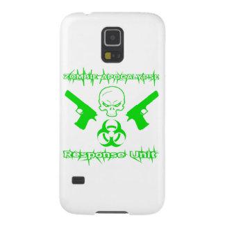 Zombie Apocalypse Response Unit Galaxy S5 Covers