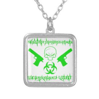 Zombie Apocalypse Response Unit Custom Necklace