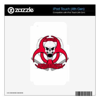 Zombie Apocalypse rw iPod Touch 4G Decal