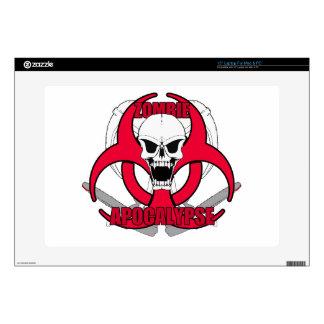 "Zombie Apocalypse rw 15"" Laptop Skin"