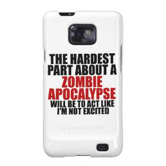 Zombie Apocalypse Samsung Galaxy SII Cases