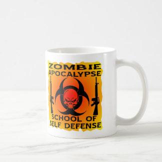 Zombie Apocalypse School Of Self Defense Coffee Mug