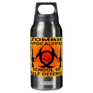 Zombie Apocalypse School Of Self Defense Thermos Water Bottle