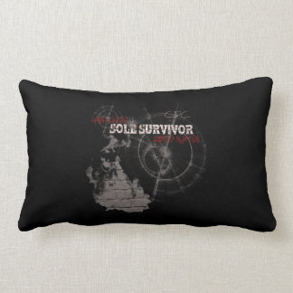 Zombie Apocalypse: Sole Survivor Lumbar Pillow