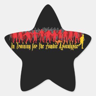 Zombie Apocalypse Star Sticker