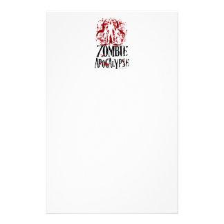 Zombie Apocalypse Stationery