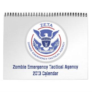 Zombie Apocalypse Story Calendar 2013