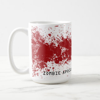 Zombie apocalypse survival mug