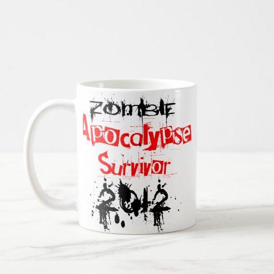Zombie Apocalypse Survivor 2012 Coffee Mug