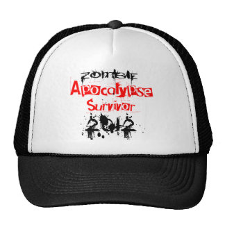 Zombie Apocalypse Survivor 2012 Trucker Hat