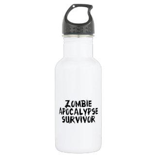 Zombie Apocalypse Survivor Water Bottle