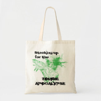 Zombie Apocalypse tote Budget Tote Bag