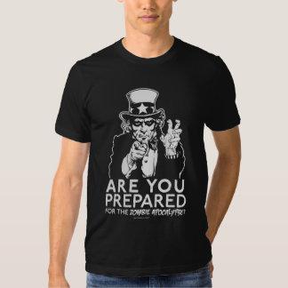 Zombie Apocalypse Uncle Sam Shirt