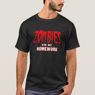 Zombie Apocolypse T Shirt Funny T