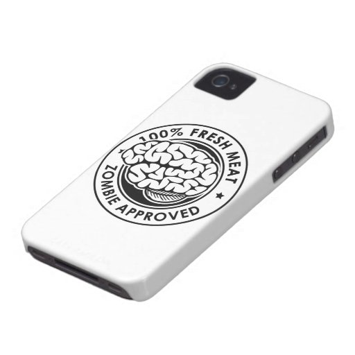 Zombie Approved Case-Mate iPhone 4 Cases